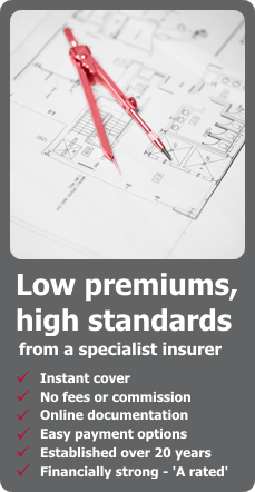 Architects insurance from Markel direct