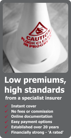 Public and product liability insurance