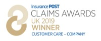 Insurance Post Claims Awards Winner 2019