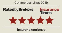 Insurance Times Commercial Lines 2019 5 Star Rating